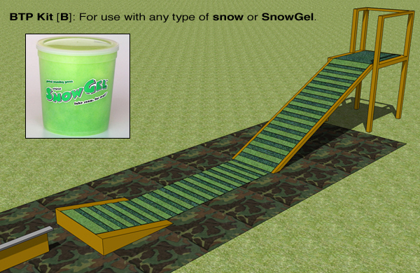 Snowgel ramp