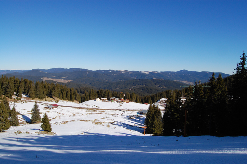 Pamporovo Track View