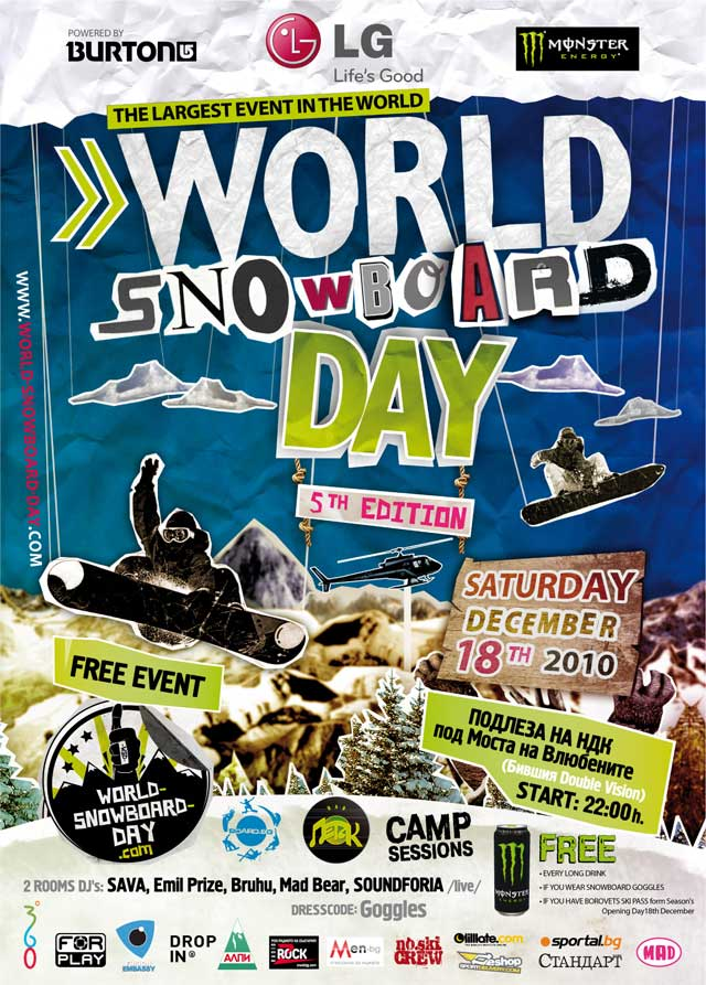 svetoven snowboard den World Snowboard Day, Bulgaria!