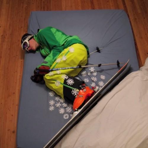 Да видим как се карат ски...