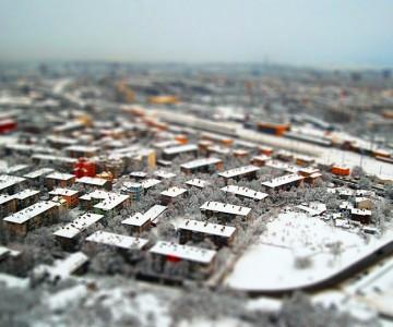Времето в Пловдив : Облачно със сняг :D