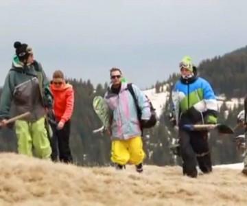 РАВНОВЕСИЕ - новият БГ сноуборд филм
