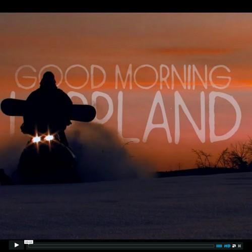 Добро утро Лапландия.