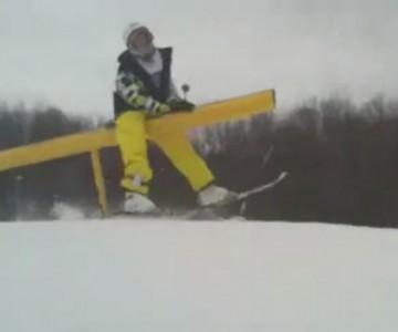 Защо не караме ски - компилация от примери.
