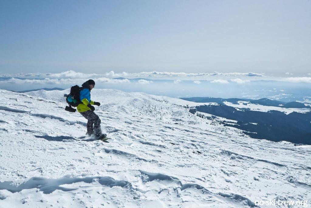 freeride snowboarding belmeken