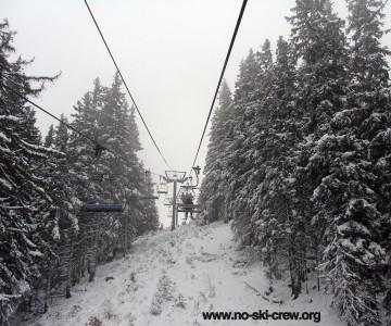 Откриване на Пампорово - асфалт,сняг и чудовища.
