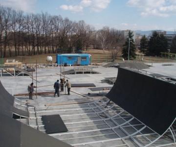 Скейт паркът в Студентски град - любопитини факти и развитие в снимки.