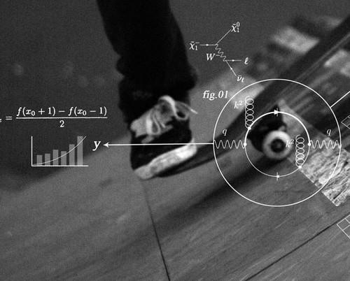 Физичните закони и скейтинга. Храна за любопитните!