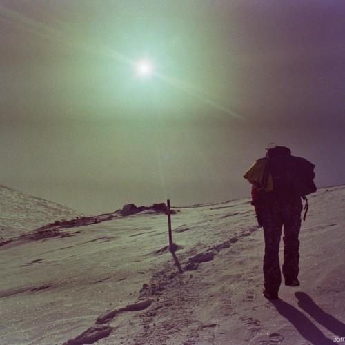 Зимата на цветна лента - х.Белмекен